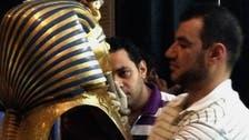 Tutankhamun burial mask permanently damaged