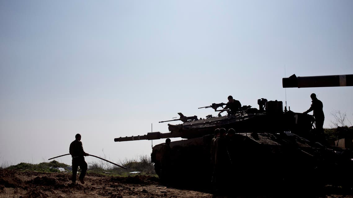 The warning follows an Israeli air strike in Syria that killed an Iranian general and senior Hezbollah fighters (Reuters)