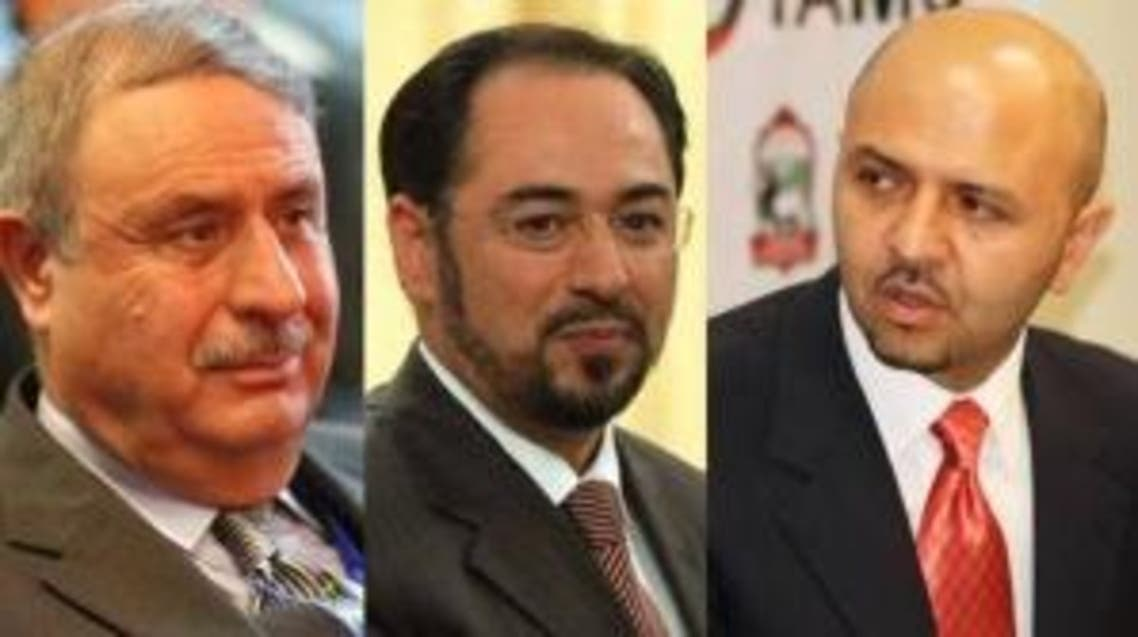 3 candidates to afghan ministeries