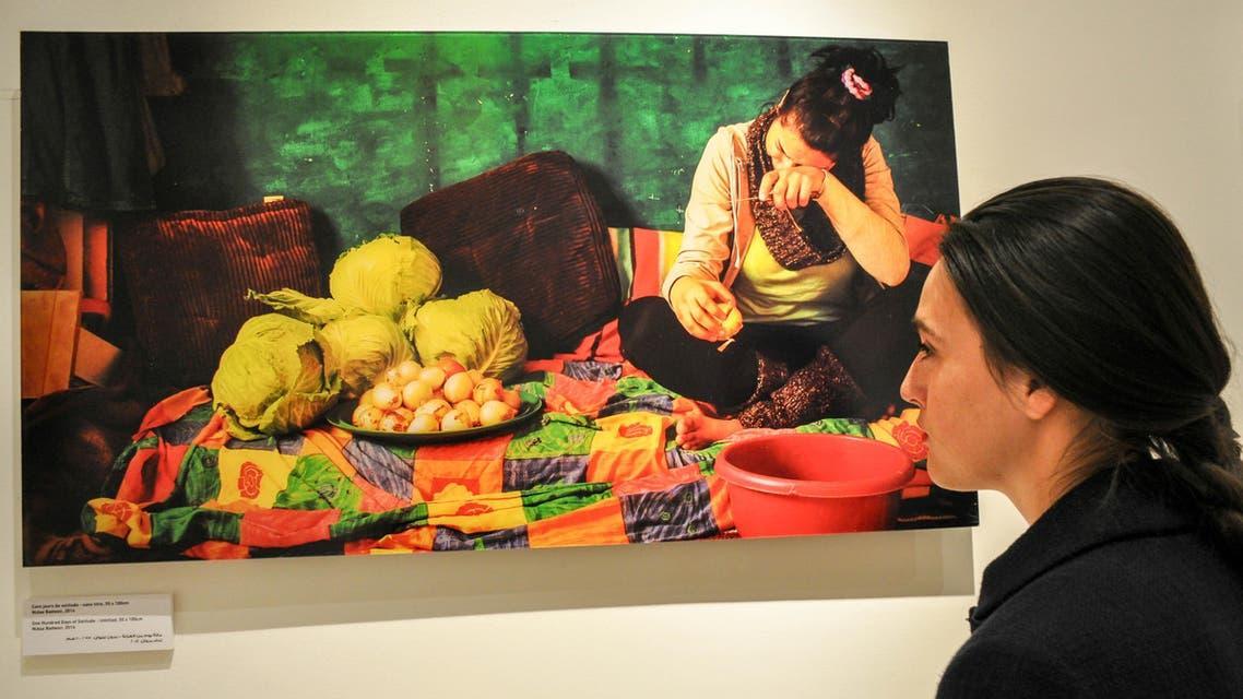 (Photos courtesy: al-Hoash Palestinian Art Court) Nidaa Badwan