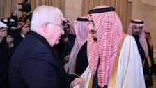 عراقی صدر کی سعودی فرمانروا شاہ سلمان سے ملاقات