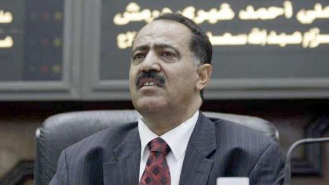 رئيس البرلمان اليمني يحيى الراعي