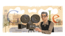 Leading Egyptian director Youssef Chahine marked in Google doodle