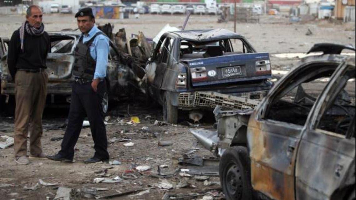 قتلى وجرحى في انفجار مزدوج وسط العاصمة بغداد