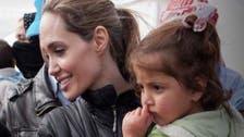 Angelina Jolie visits refugees in Iraqi Kurdistan