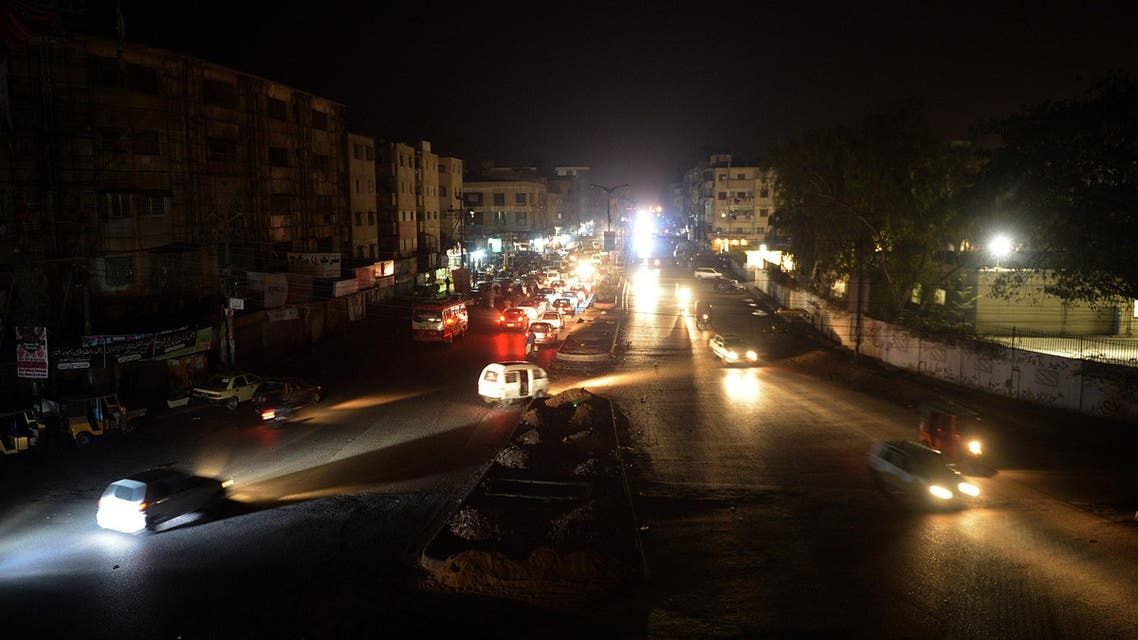 Pakistan power outage AFP