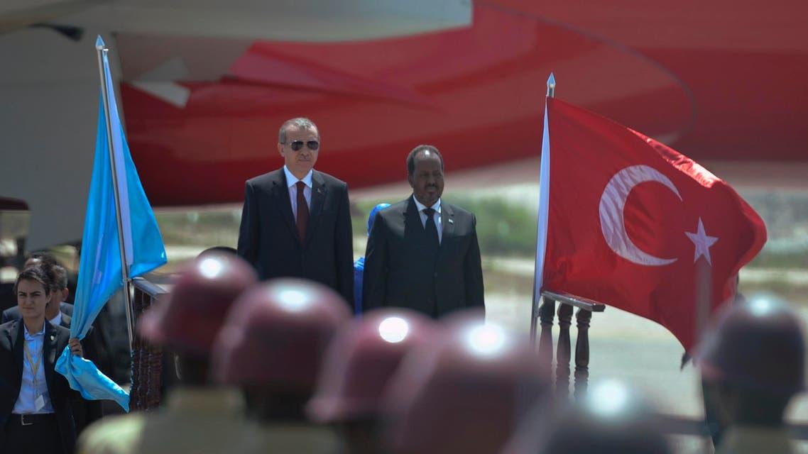 أردوغان في زيارة نادرة إلى الصومال