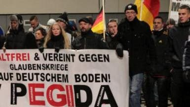 """انخفاض المشاركين في تظاهرة """"بيغيدا"""" المناهضة للإسلام"""