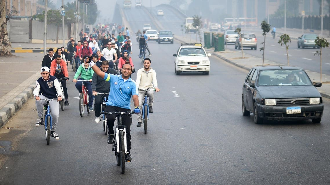 'Go Bike' in Cairo