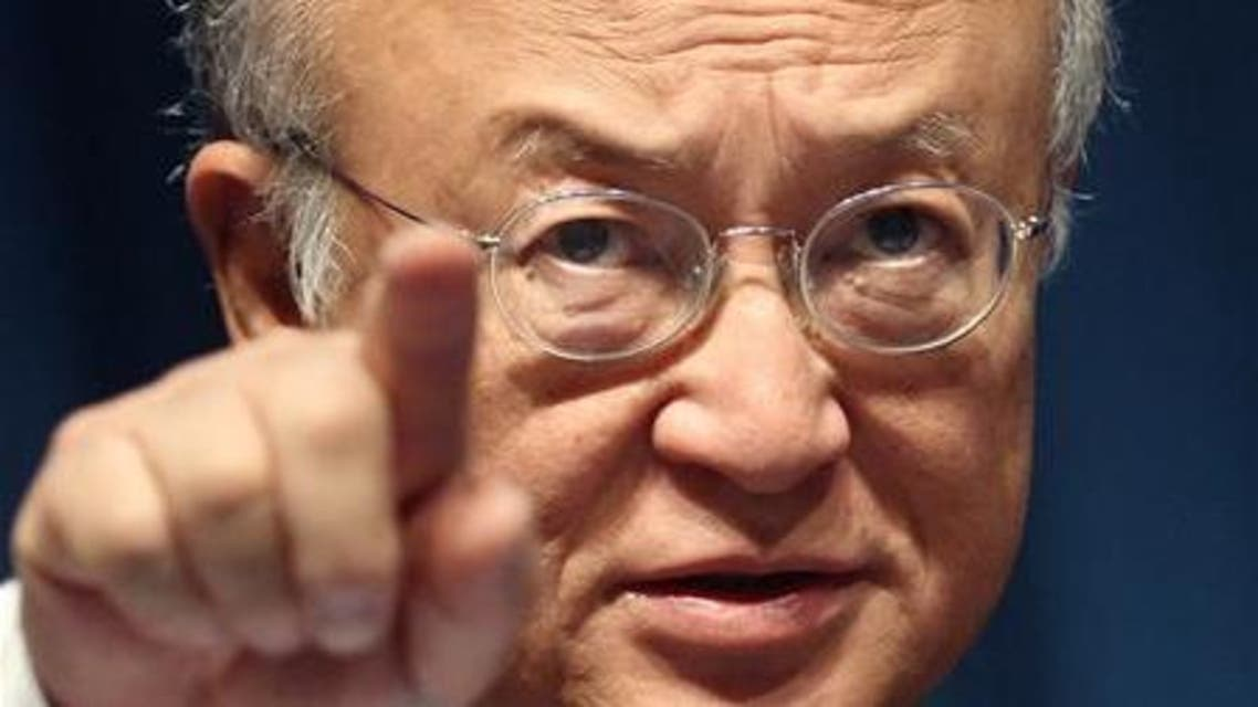 Yukiya Amano, director-general of the International Atomic Energy Agency (IAEA), made these remarks during a lecture in Singapore. (File photo: Reuters)