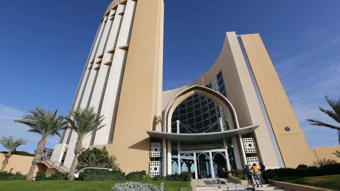 Hotel Corinthia in Tripoli, Libya. (File photo: AFP)