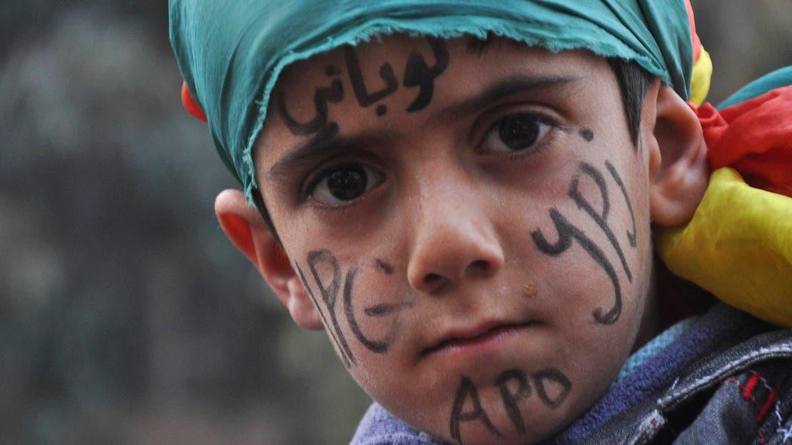طفل كردي - كوباني 3