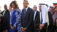 Obama holds talks with King Salman in Riyadh