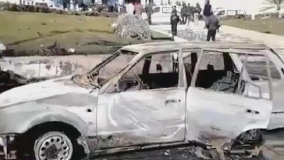 THUMBNAIL_ ليبيا: 4 انتحاريين يفجرون أنفسهم بفندق الدبلوماسيين