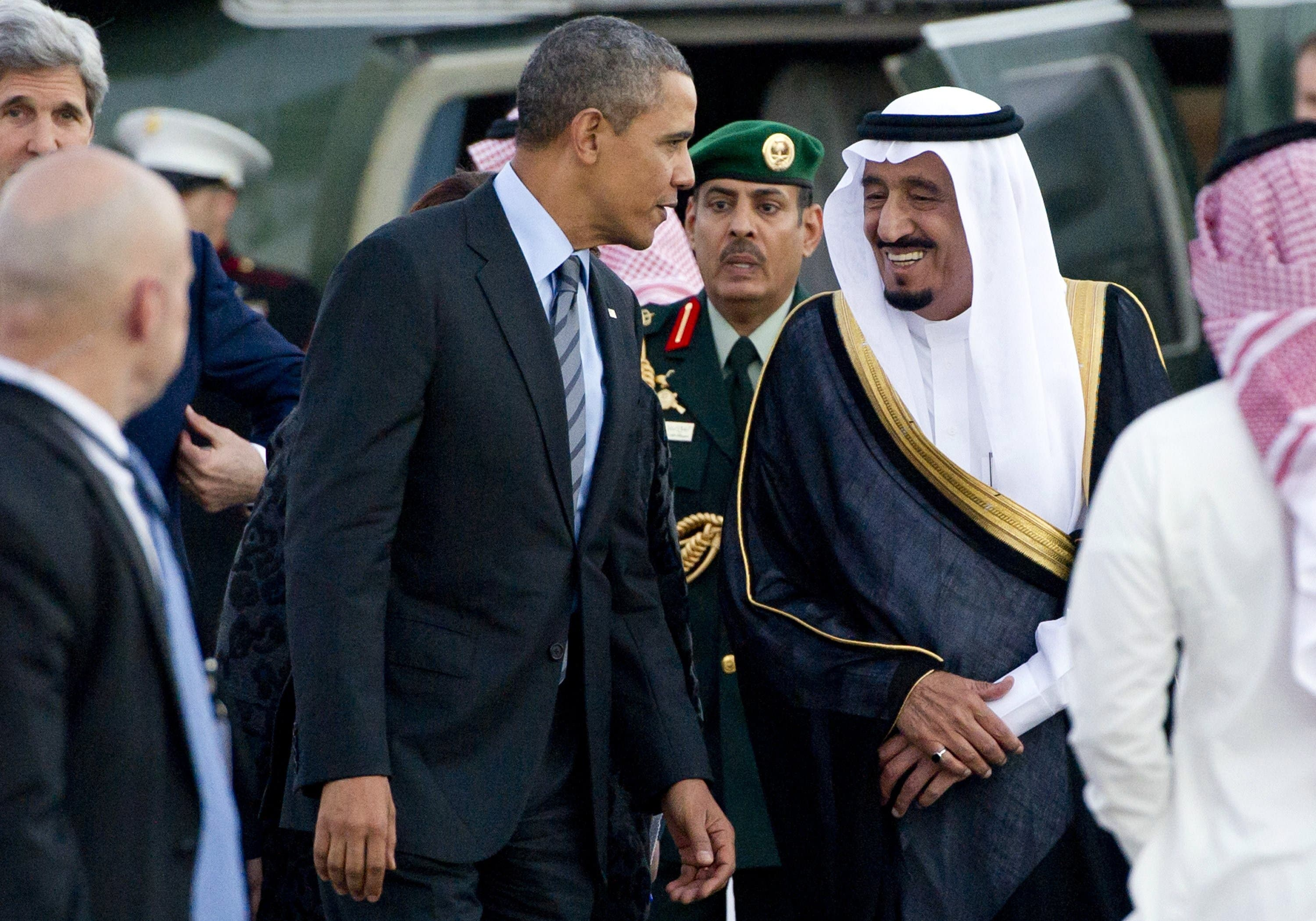 Obama Saudi Arabia King Salman AFP