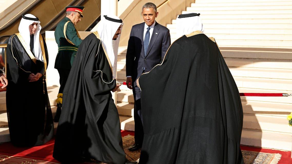 Obama arrives in Riyadh