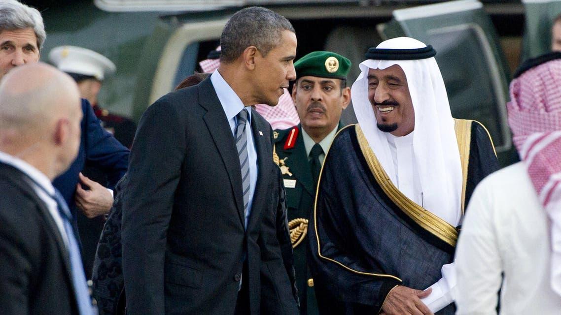 President Barack Obama Saudi King Salman AFP