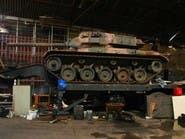 دبابتان للجيش البرازيلي في مستودع للبضائع المسروقة