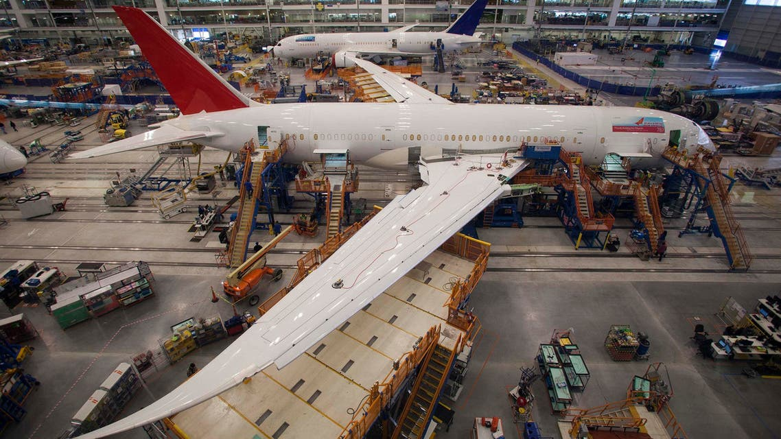 Boeing reports earnings rise (Reuters)