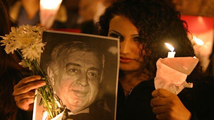 تشییع جنازه مصطفی العقاد کارگردان سوری