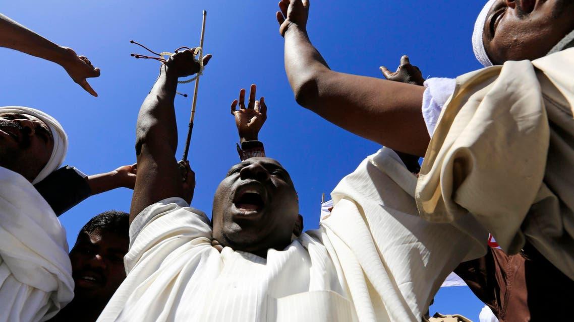 Khartoum protesters rally against France