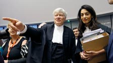 Amal Clooney dodges fashion question at court
