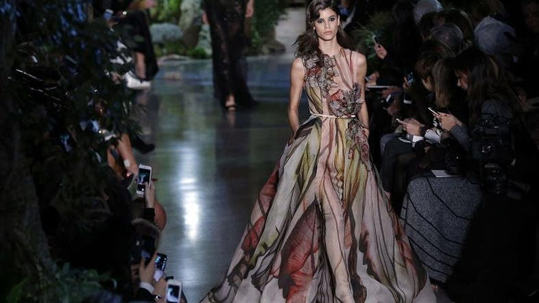 Elie Saab Pays Tribute To Beirut At Paris Haute Couture Al Arabiya English