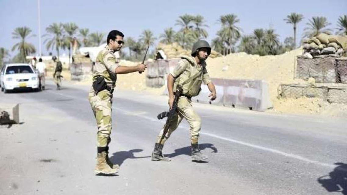 الشرطة المصرية في سيناء