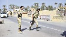 قوات الأمن تلقي القبض على 17 مشتبها بهم في شمال سيناء