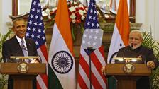 """""""بھارت یاترا سے صدر اوباما کی زندگی میں چھ گھنٹے کمی """""""