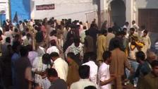 شکار پور:امام بارگاہ میں بم دھماکا،55 افراد ہلاک