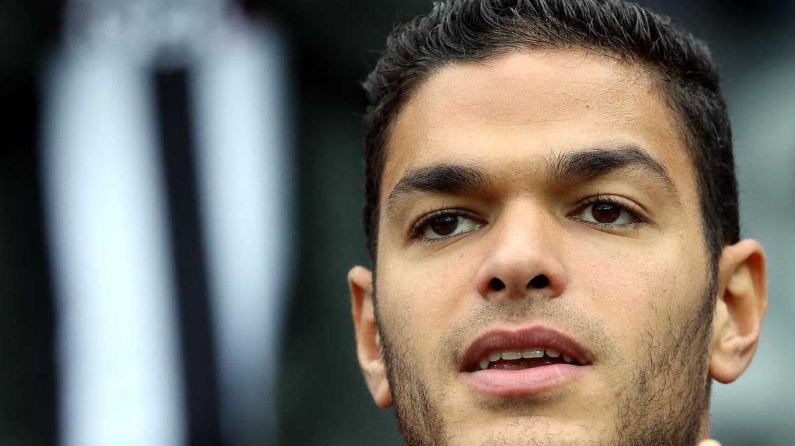 Hatem Ben Arfa can't play for Nice this season (AP)