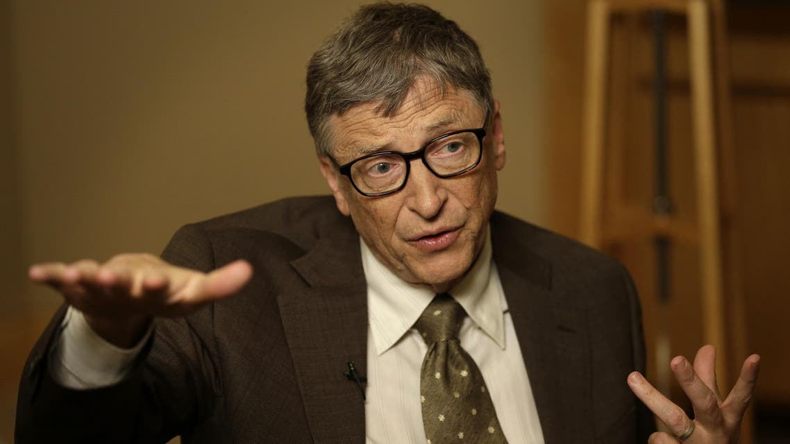 Bill Gates talks during an interview in New York, Wednesday, Jan. 21, 2015. (File photo: AP)