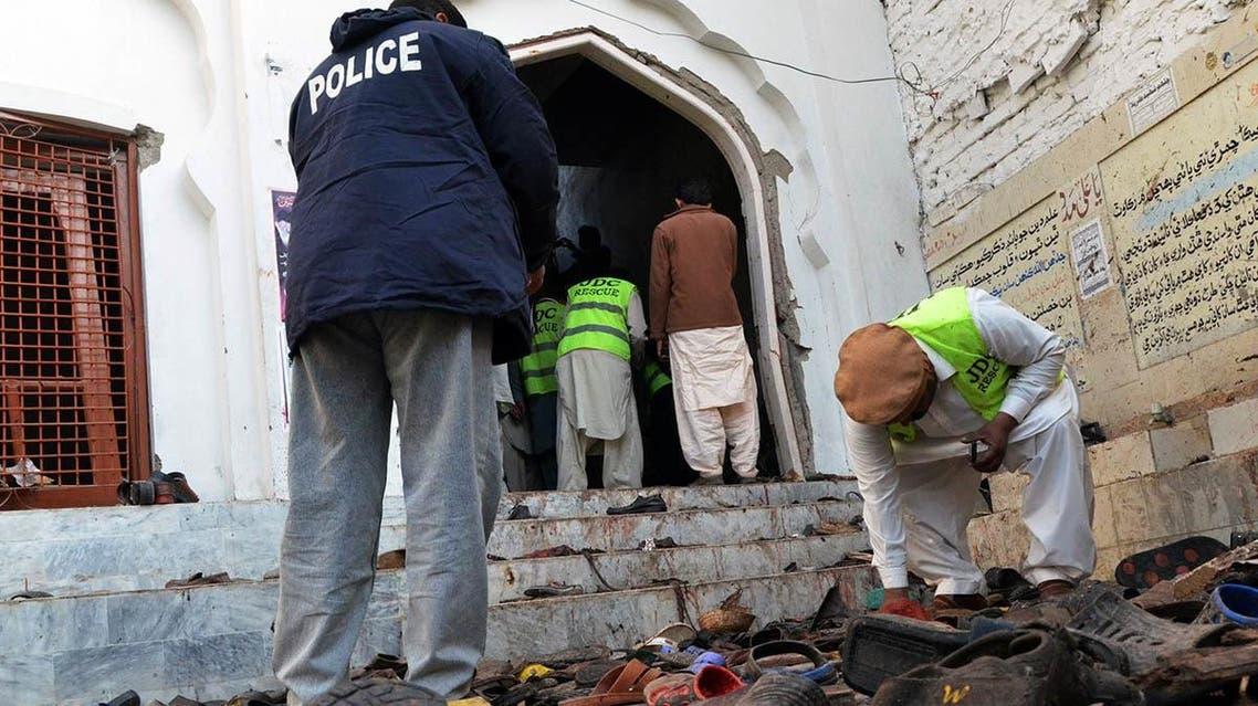 انفجار در حسینیه شکار پور