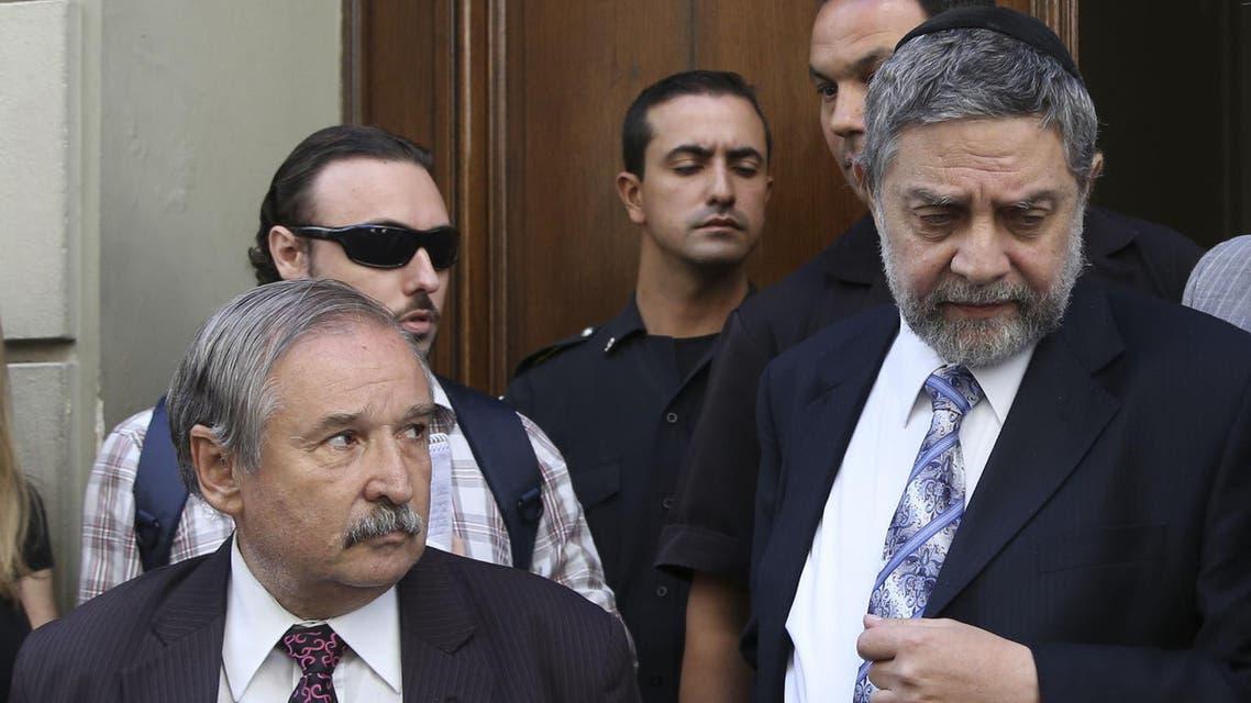 Leonardo Jmelnitzky, right, Julio Schlosser, left AFP Buenos Aires Argentian