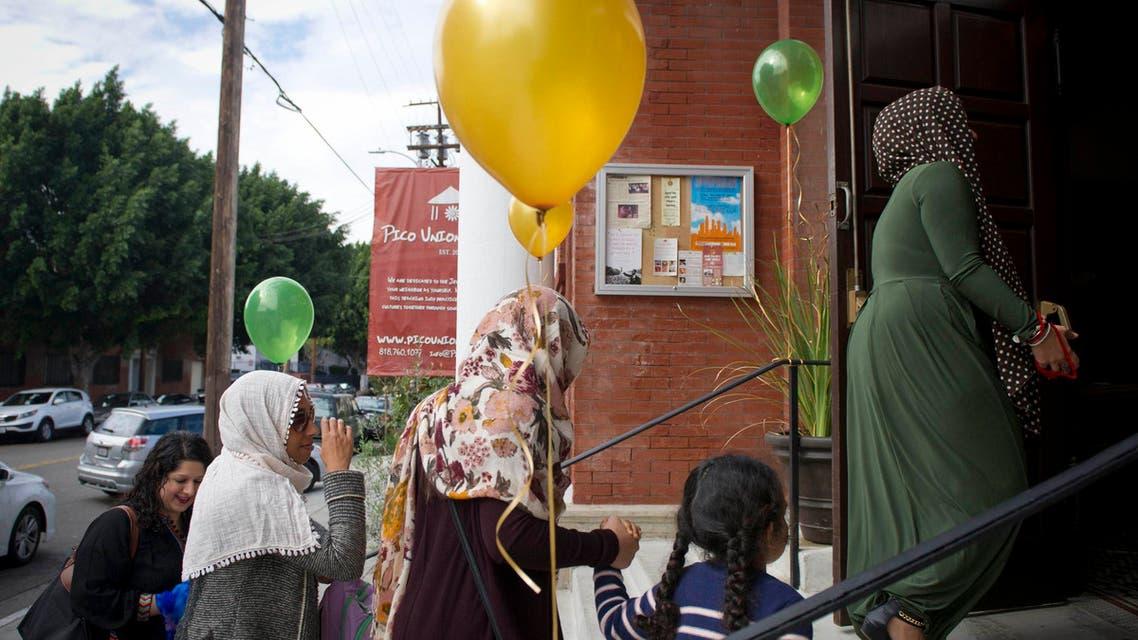 LA muslim women mosque reuters