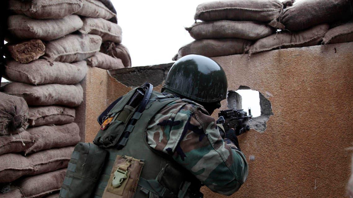kurdish fighter reuters
