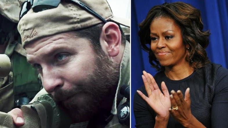 Michelle Obama defends 'American Sniper' movie - Al Arabiya