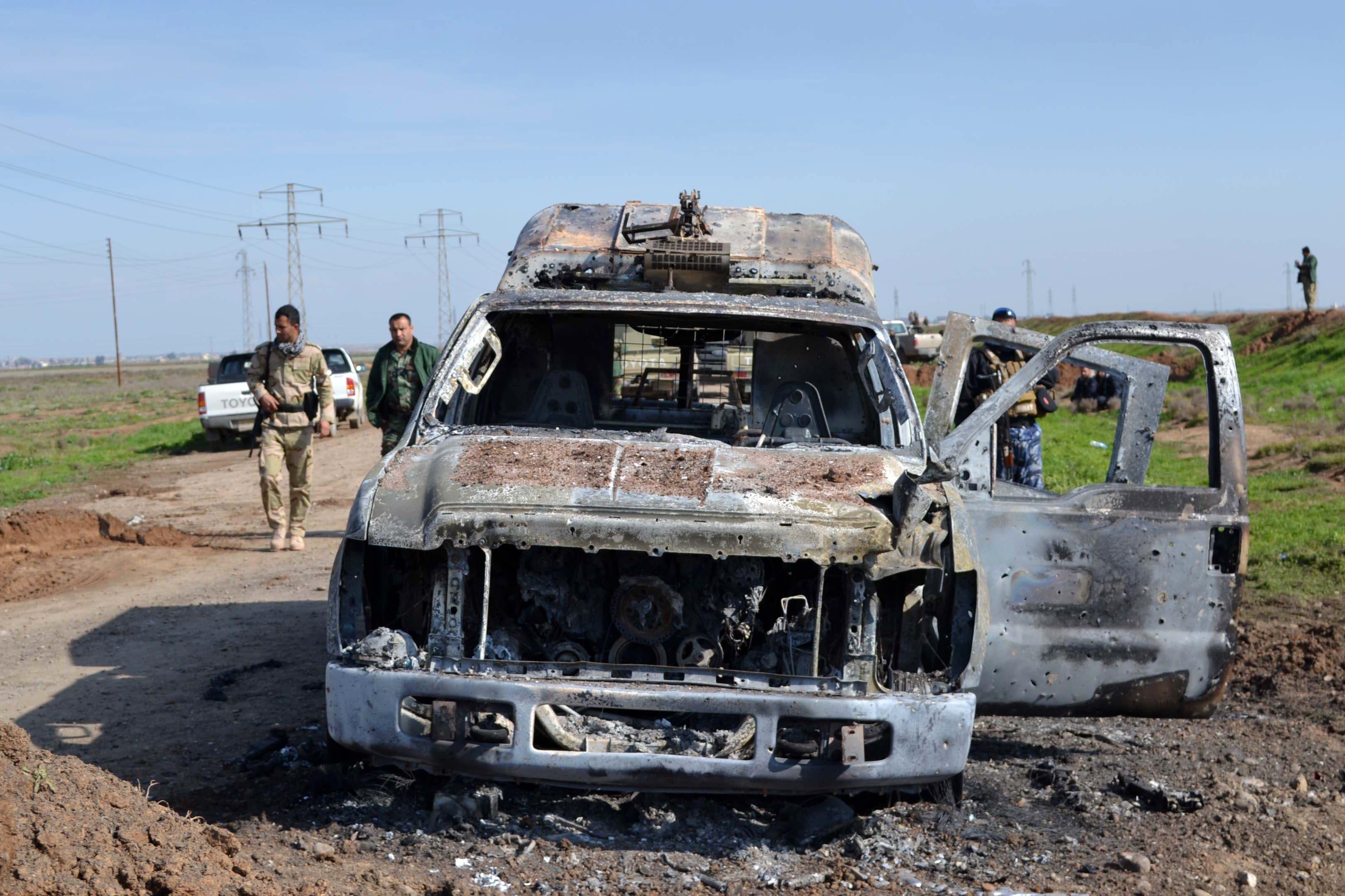 Peshmerga retake oil field from ISIS