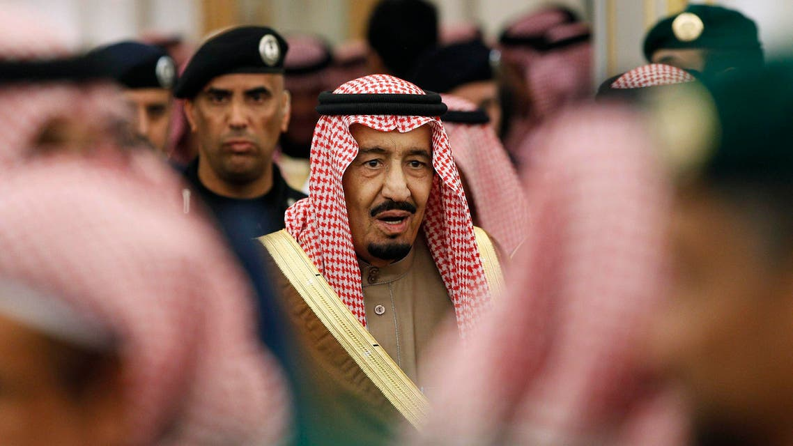 saudi king salman reuters