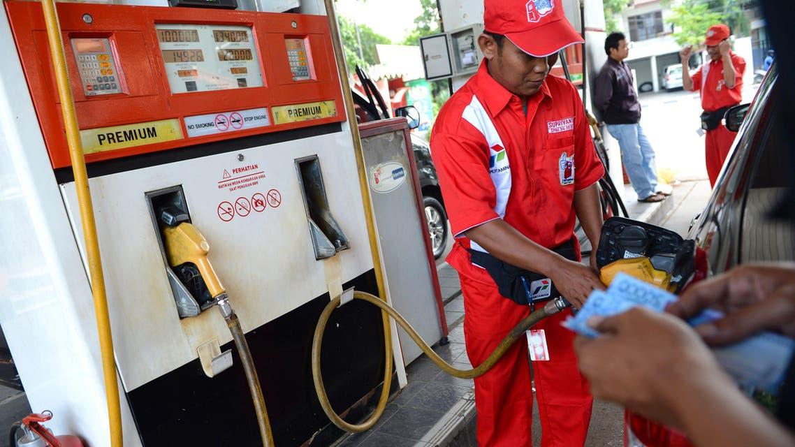 Indonesia Gasoline Fuel AFP