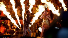 Katy Perry lights up half-time show at Super Bowl 2015