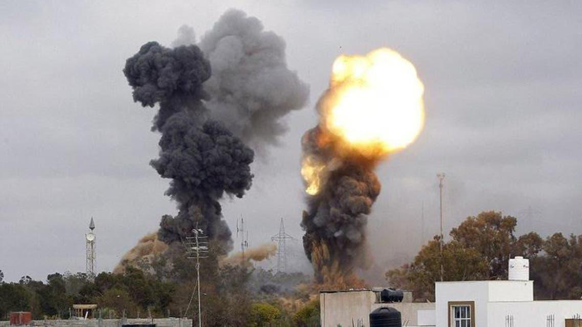 نفجار سابق في طرابلس