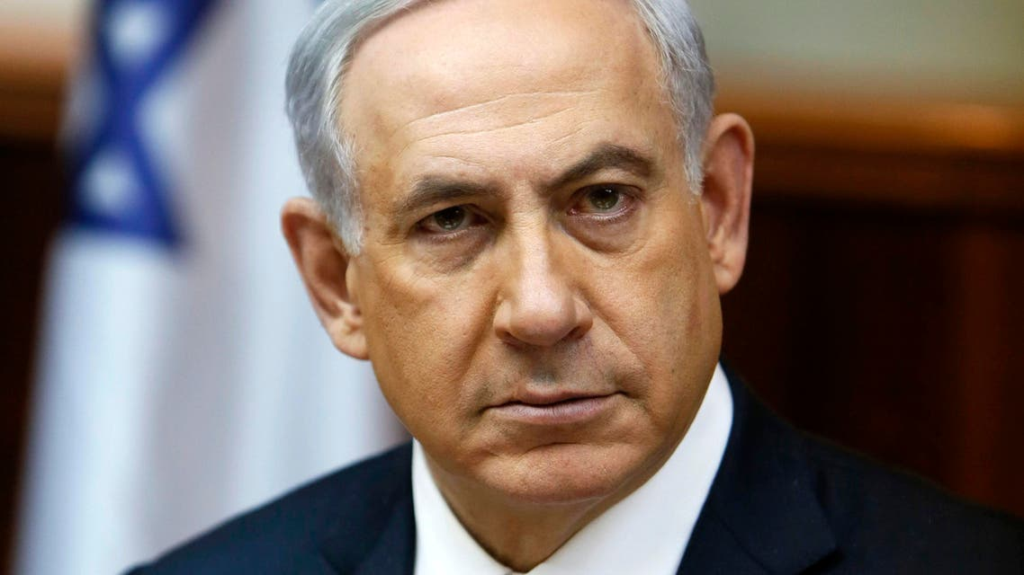 Benjamin Netanyahu slams UN (AP)