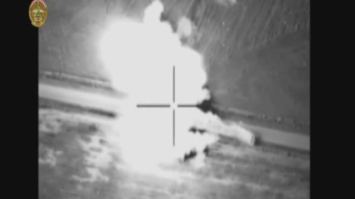 THUMBNAIL_ قوات التحالف توجه ضربات جوية مركزة ضد داعش في نينوى