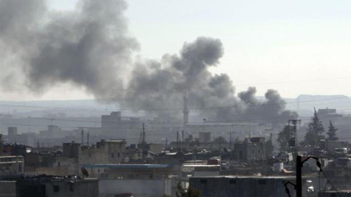 قصف درعا