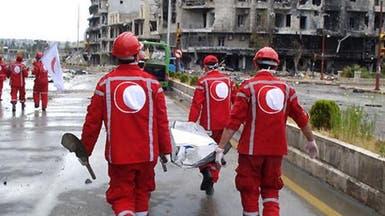 داعش يستولي على الهلال الأحمر بالميادين السورية