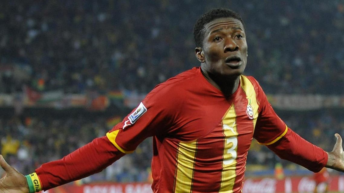 It has been an eventful tournament for Gyan who missed Ghana's first game against Senegal AFP