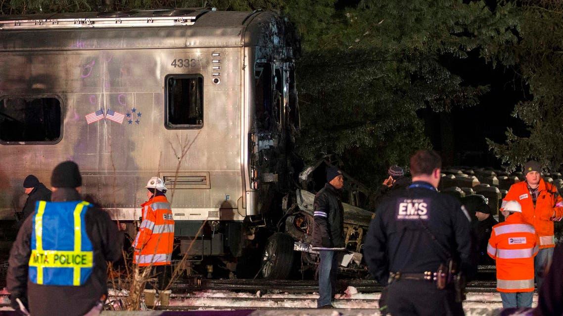 New York train crash (Reuters)