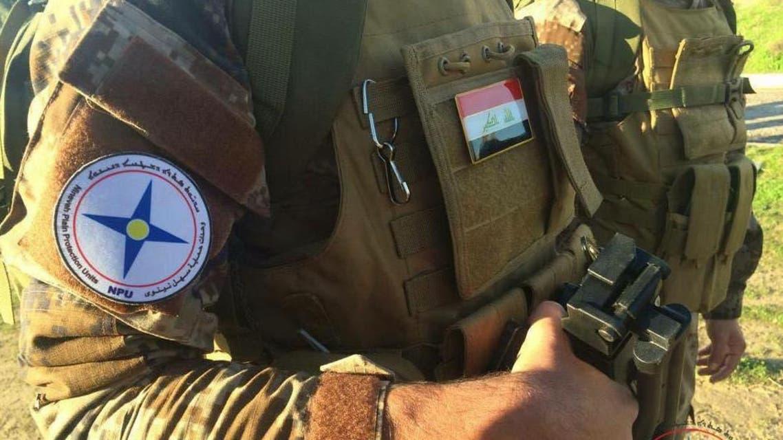 Iraqi Christian fighters. (Photo courtesy Calvin Isaac)